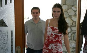 Dark-haired Spectacular Wifey Gets Kinky For Man..