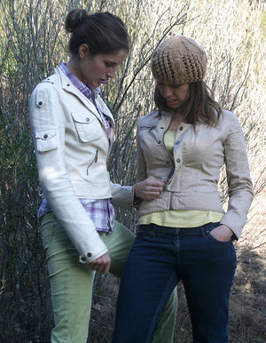 Audrey and Kara