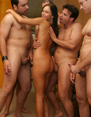 gang bang wife