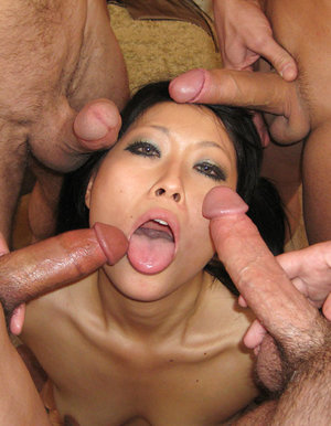 Asian hoe throating