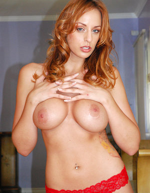 Redhead stunner torn up