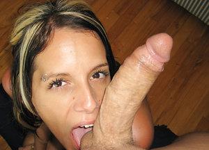 Pamela deepthroats chisel